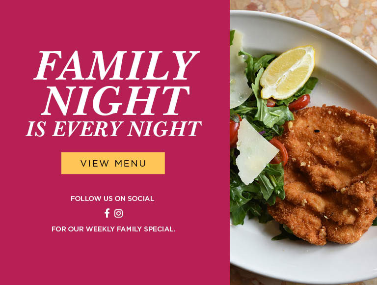 Every Night is Family Night | View Menu