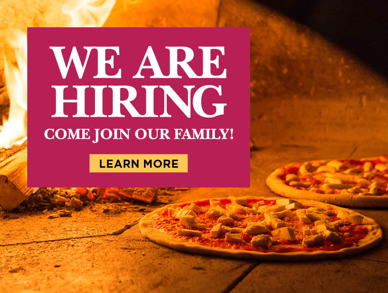 We Are Hiring | Come Join Our Family! | Click to learn more