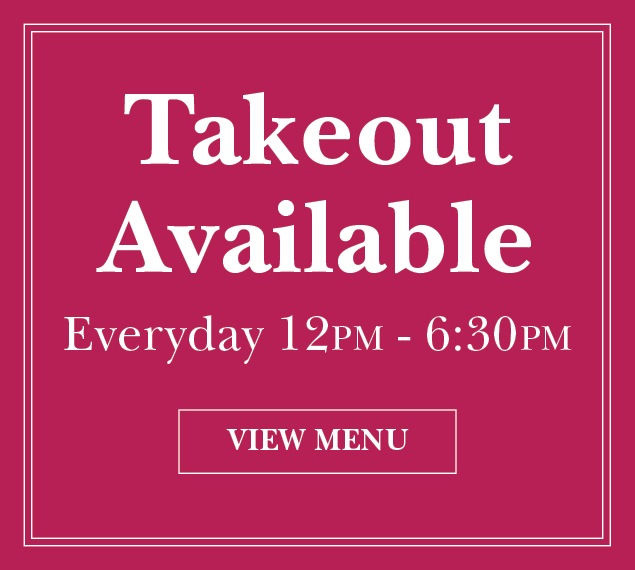 View Menu | Panevino Ristorante Takeout Available, Everyday 12PM-6:30PM