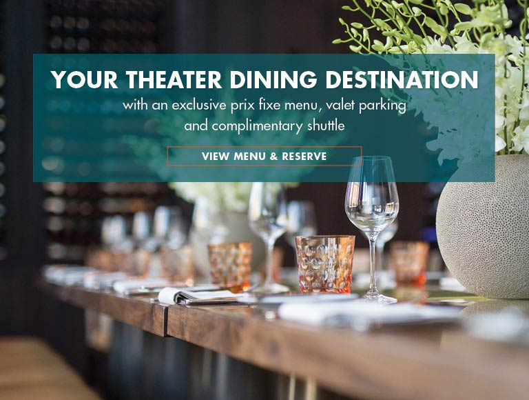 Your Theater Dining Destination