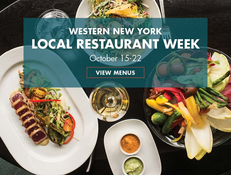 View Menu for Western New York Local Restaurant Week, October 15-22