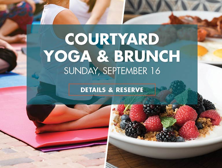 OWM Yoga and Brunch Package, Downtown Buffalo, NY