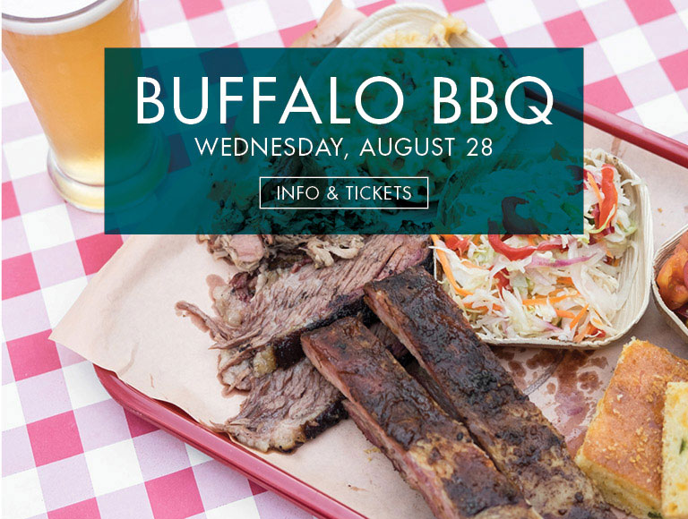 Info & Tickets | Buffalo BBQ at Patina 250 in downtown Buffalo on Wednesday, August 28