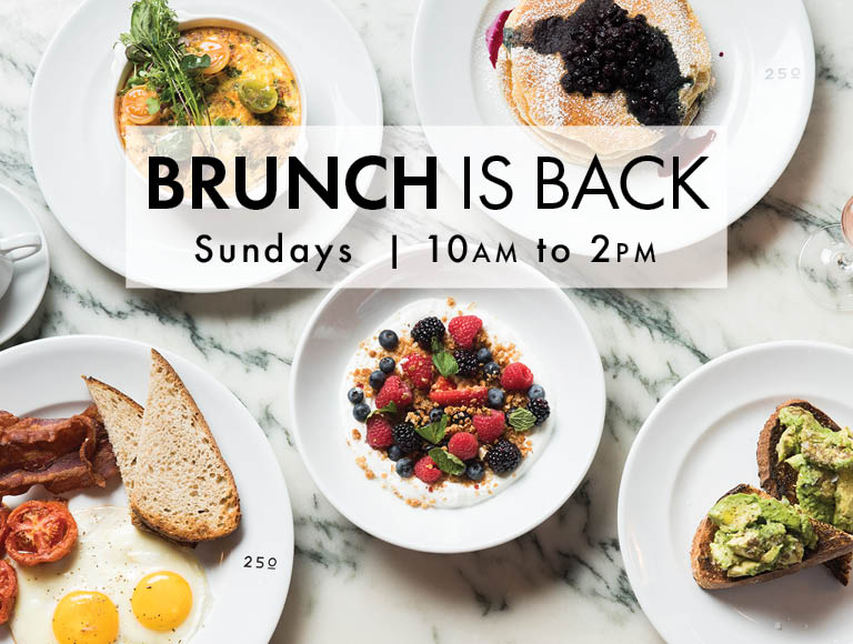 Brunch Is Back | Sundays | 10am to 2pm | Click to view menu