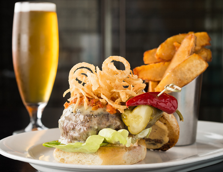 Burger, fries and beer | Downtown Buffalo, NY Restaurants