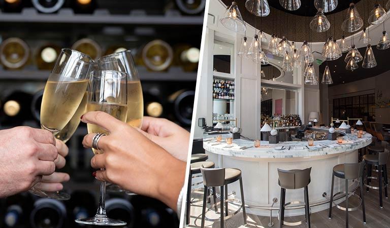 Champagne, Patina 250 Bar, Party Planning, Downtown Buffalo, NY
