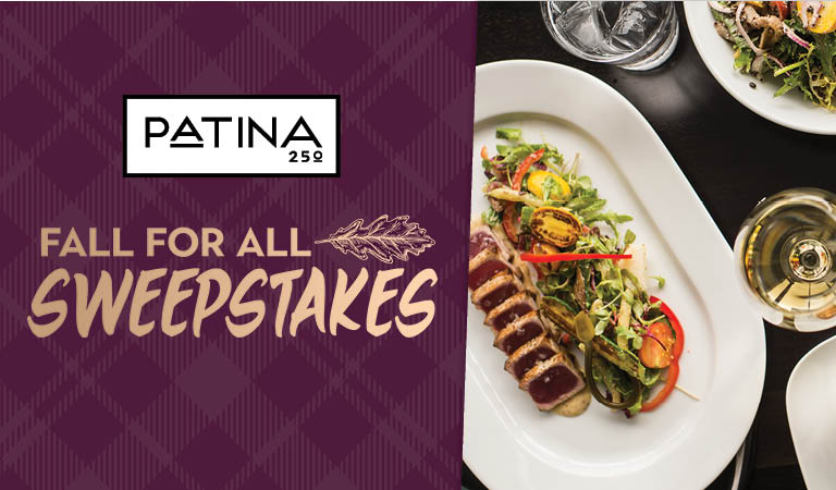 Win a dinner for four to Patina 250