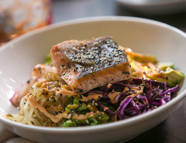 Salmon bowl | Downtown Buffalo, NY Restaurants
