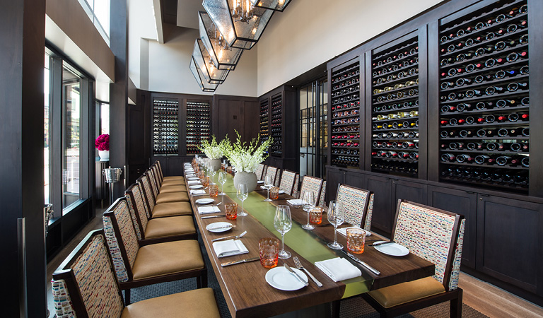 Private events in the private dining room at Patina 250, 250 Delaware Ave Buffalo ny