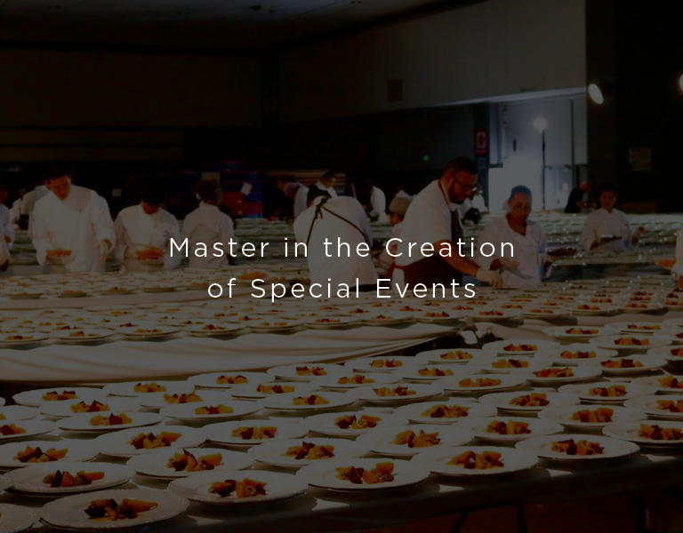 master in the creation of special events