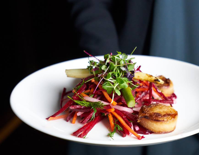scallop salad