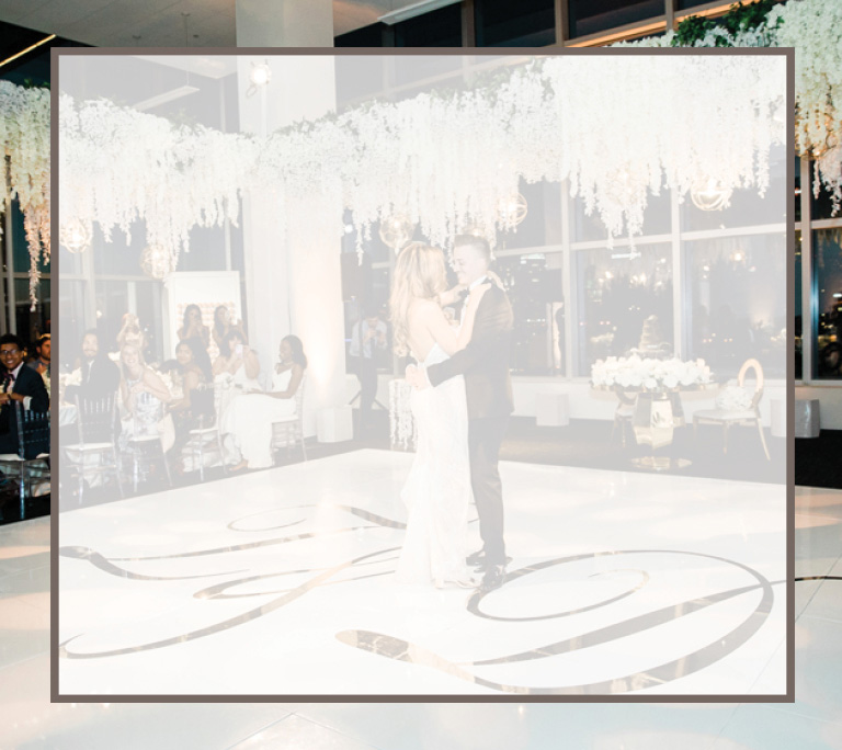 Bride and Groom dancing | Weddings by Patina Restaurant Group