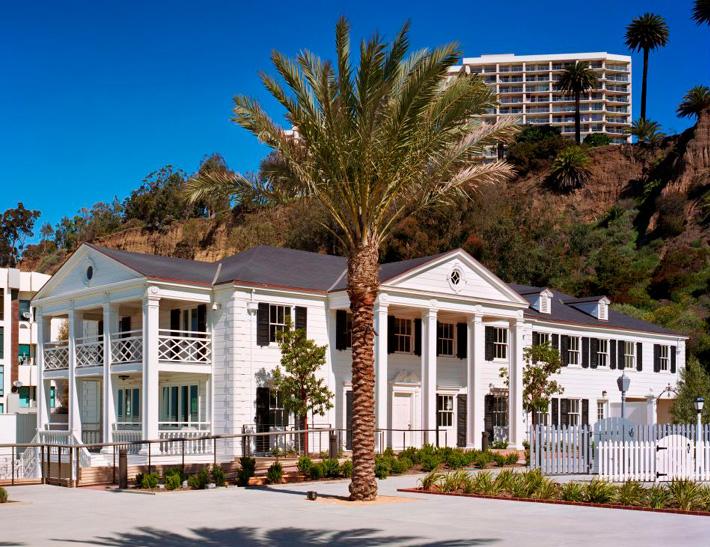 Annenberg Beach House exterior in Santa Monica, CA