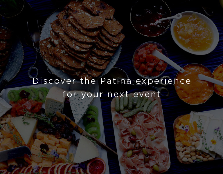 discover the patina experience for your next event