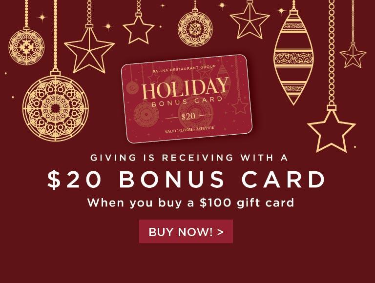 Bonus Card Offer