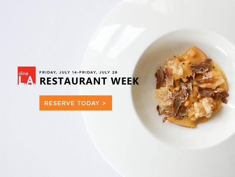 Summer dineLA Restaurant Week