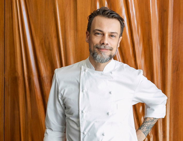 Executive Chef Fernando Darin of Patina Restaurant in downtown Los Angeles