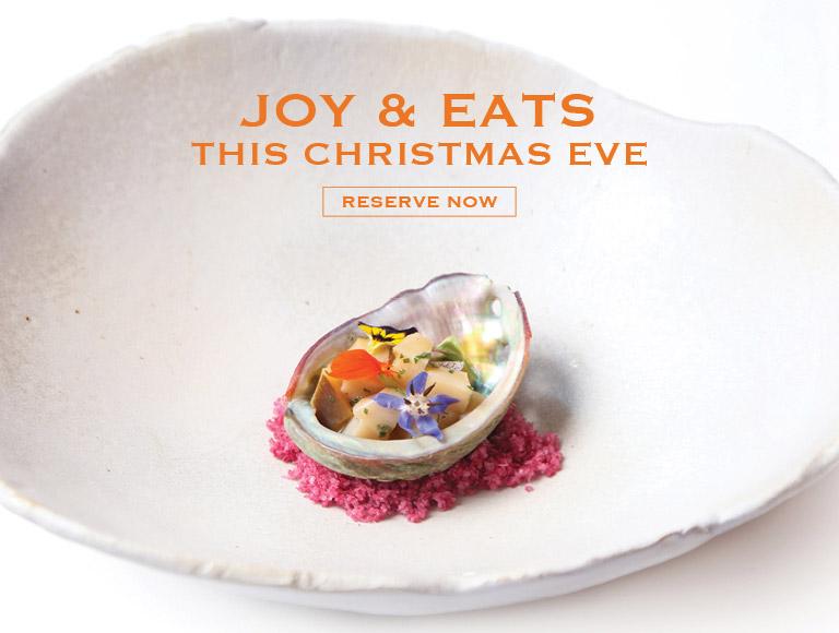 Reserve Now   Joy & Eats this Christmas Eve at Patina Restaurant