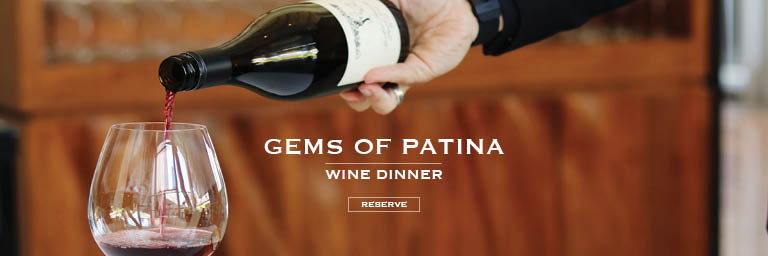 Reserve | Gems of Patina Wine Dinner