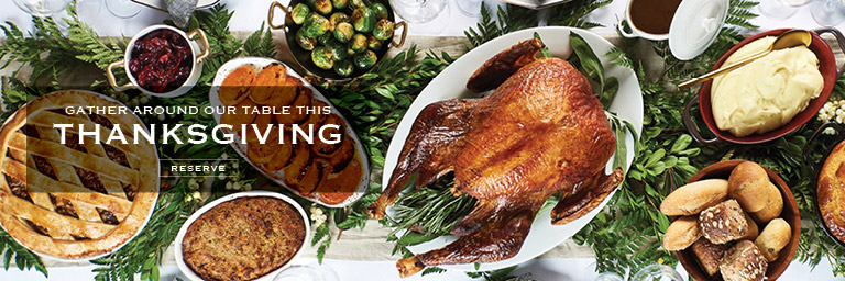 Reserve | Gather Around Our Table This Thanksgiving | Patina Restaurant