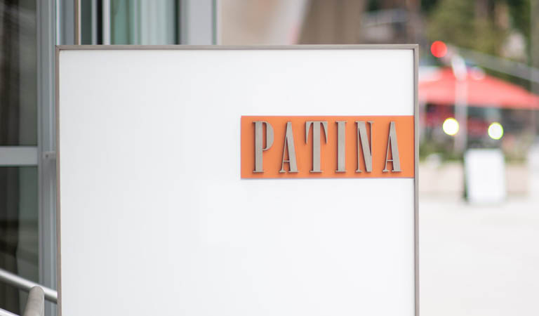 Patina Restaurant exterior