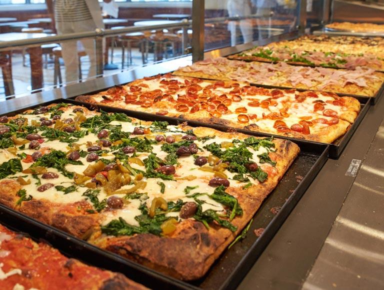 fresh pizzas