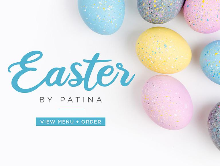 View Menu + Order   Easter by Patina