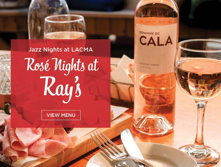 Rosé Nights at Ray's, Live Jazz at LACMA