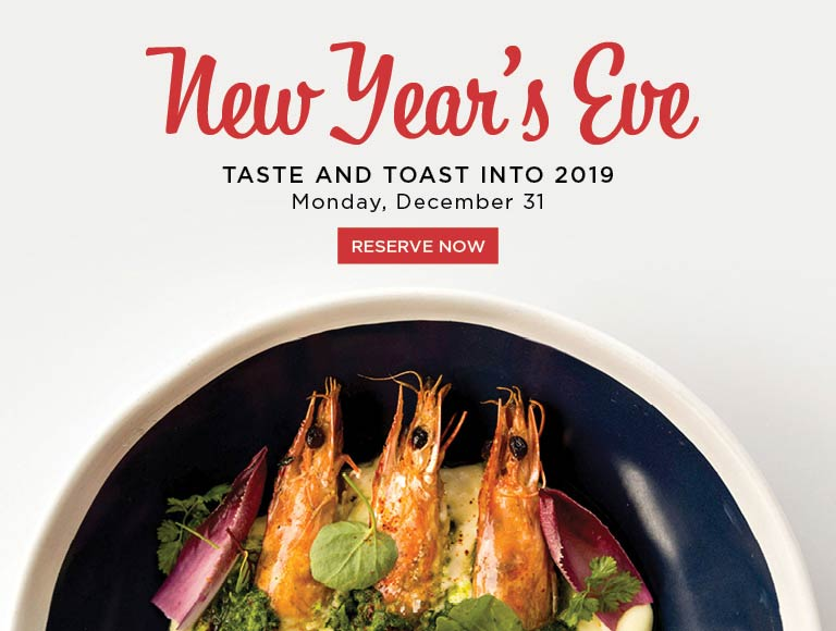 Reserve now and ring in 2019 at Ray's Stark Bar, LACMA restaurant
