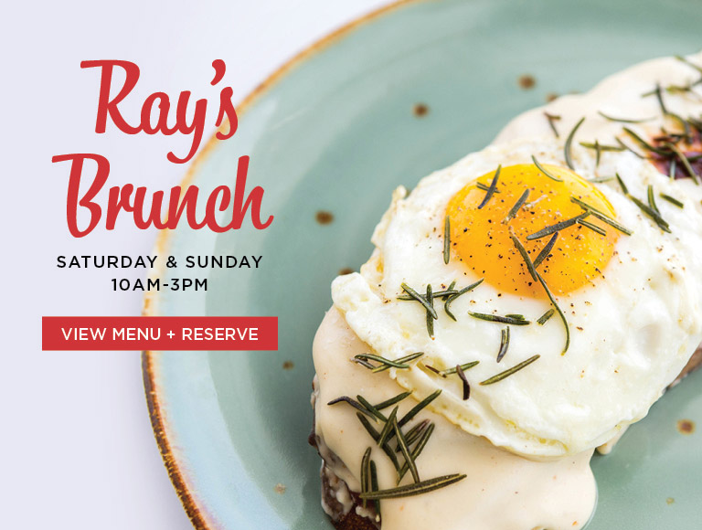 View Menu + Reserve | Ray's Brunch at LACMA | Saturday & Sunday | 10AM-3PM