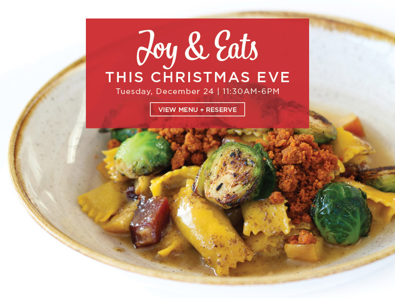 View Menu + Reserve | Joy & Eats This Christmas Eve at Ray's and Stark Bar in Los Angeles | Tuesday, December 24 | 11:30AM-6PM