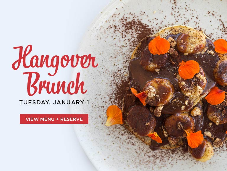 View menu & reserve for Hangover Brunch, January 1, 2019 | LACMA restaurant