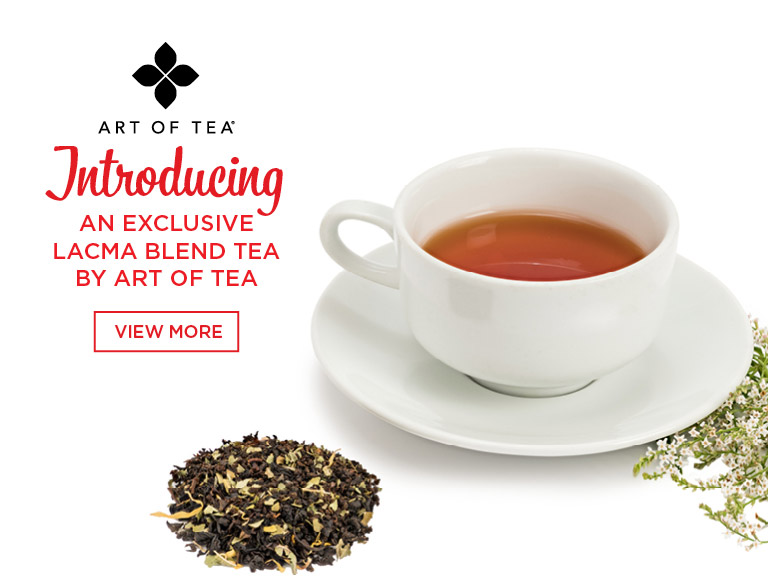 View More | Art of Tea | Introducing an exclusive LACMA blend tea by Art of Tea