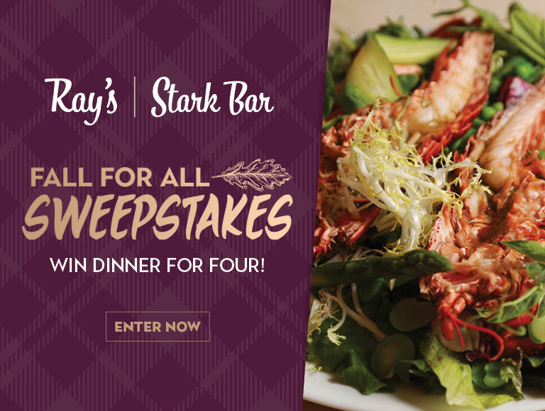 Win a dinner for four at Ray's