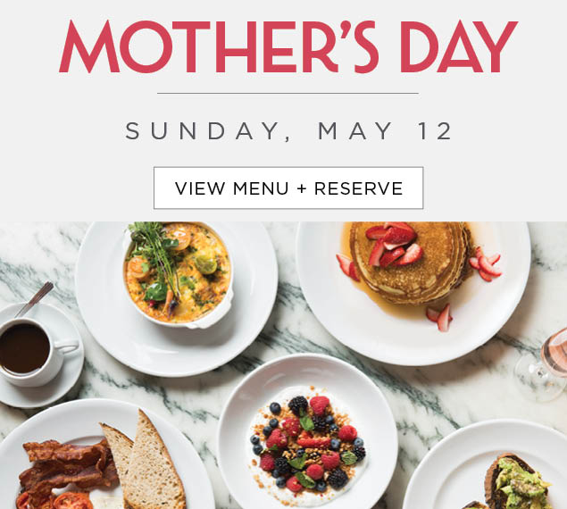 Click to view Mother's Day Menu