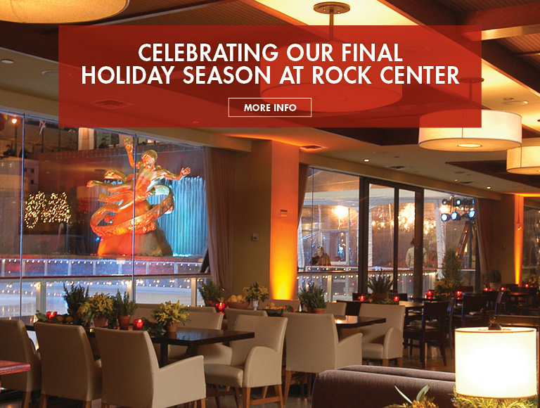More Info | Celebrate our final holiday season at Rock Center