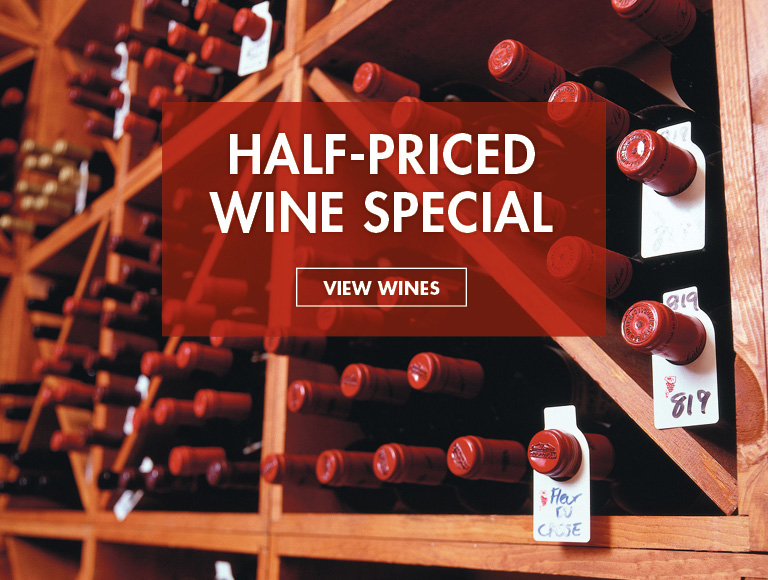 View Wines | Half-Priced Wine Special at Rock Center Cafe in Rockefeller Center
