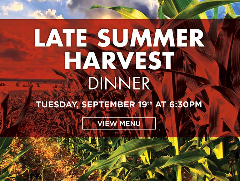 Late Summer Harvest Dinner
