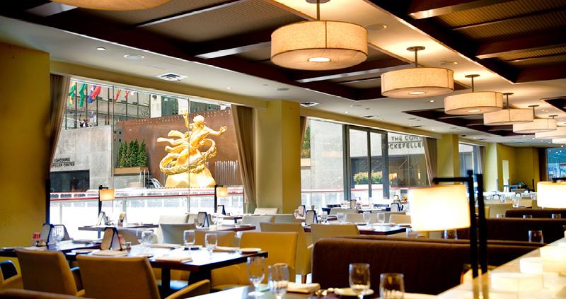 Rock Center Cafe Rockefeller Center Restaurant In Midtown Ny Ny