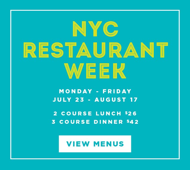 View Menu and Reserve for Summer Restaurant Week