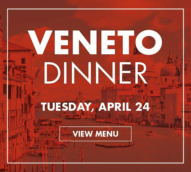 View Menu for Veneto Dinner