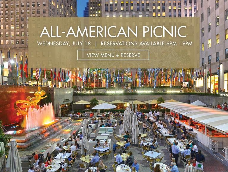 All American Picnic, Rockefeller Center, New York City