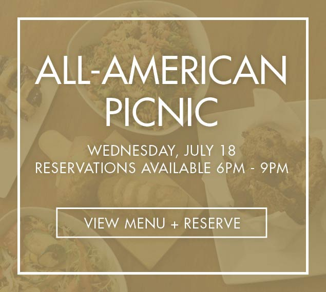 View Menu for All American Picnic