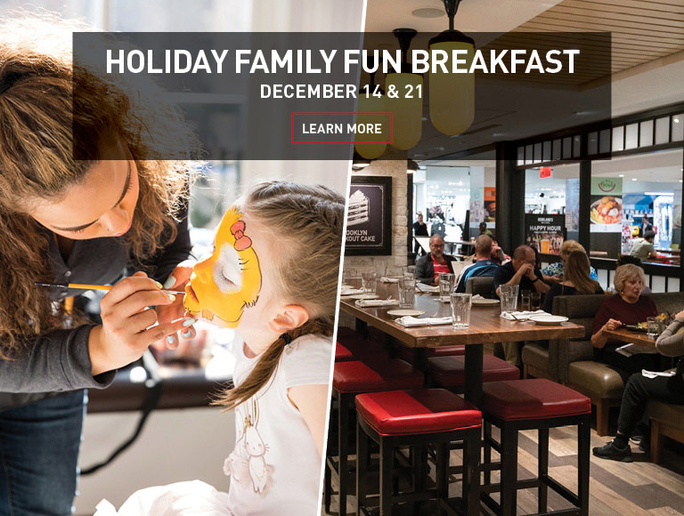 Learn More | Holiday Family Fun Breakfast at Rowland's Bar and Grill in NYC | December 14 & 21