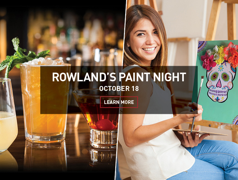 Learn More | Rowland's Paint Night on October 18