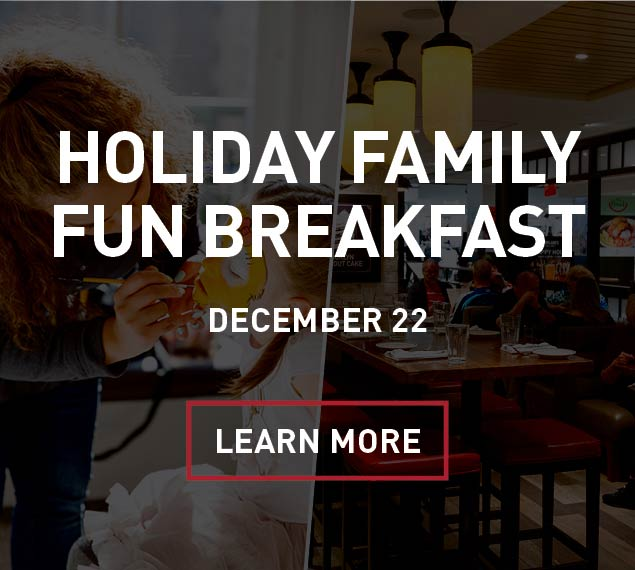 Learn More About Rowland's Family Fun Holiday Breakfast