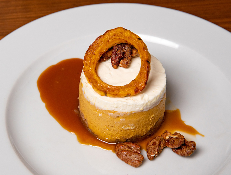 Dessert served at STATE Grill and Bar in NYC