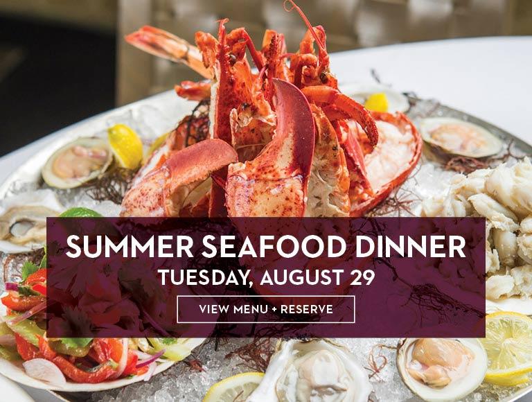 Summer Seafood Dinner