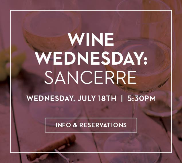 View Our Wine Wednesday Menu