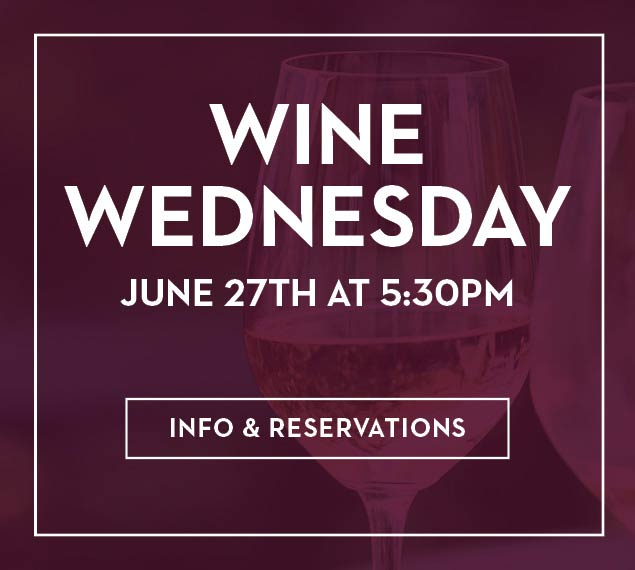 Wine Wednesdays - View Menu